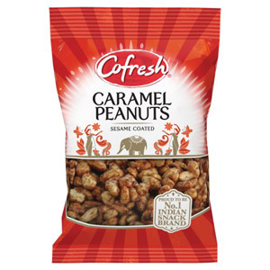 Cofresh Sesame Coated Caramel Peanuts