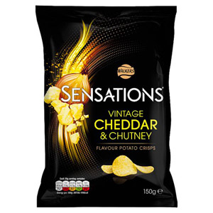 Sensations Vintage Cheddar and Red Onion Chutney