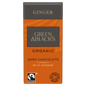 Green and Blacks Dark Ginger Bar