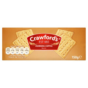 Crawfords Morning Coffee Biscuits