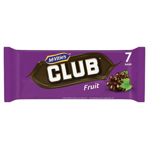 Jacobs Club Fruit 7 Pack