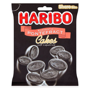 Haribo Pontefract Cakes Nutrition