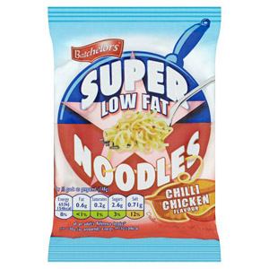Batchelors Supernoodles Low Fat Chilli Chicken Noodles