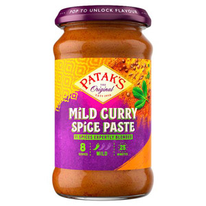 Pataks Mild Curry Paste