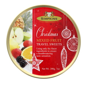 Simpkins Christmas Mixed Fruit Travel Sweets