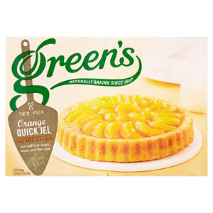 Greens Orange Quick Jel Twin Pack