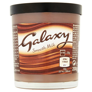 Galaxy Smooth Chocolate Spread