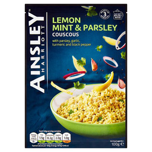 Ainsley Harriott Lemon Mint & Parsley Cous Cous