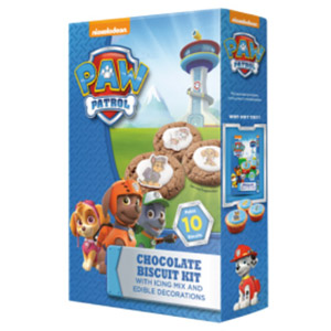 Paw Patrol Chocolate Biscuit Kit