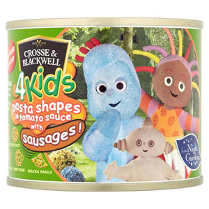 Crosse & Blackwell 4kids In A Night Garden Pasta with Sausages