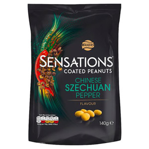 Sensations Chinese Szechuan Pepper Coated Peanuts
