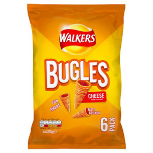 Walkers Bugles Cheese 6 Pack