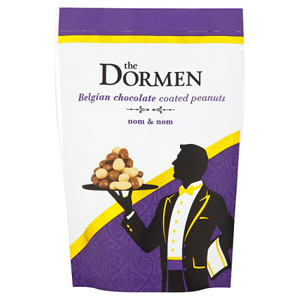 The Dormen Belgian Chocolate Coated Peanuts Premium Pouch