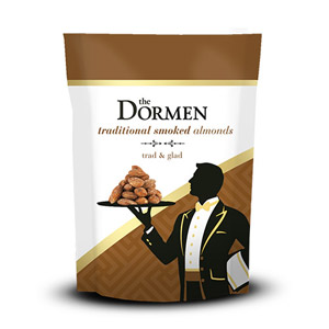 The Dormen Traditional Smoked Almonds Snack Pack