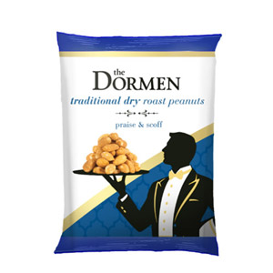 The Dormen Traditional Dry Roasted Peanuts Snack Pack