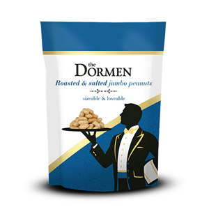 The Dormen Salted Peanuts Snack Pack