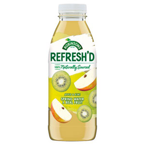 Robinsons Refresh'd Apple & Kiwi