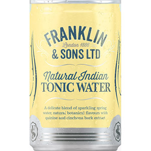 Franklin & Sons Natural Indian Tonic Water 150ml