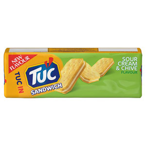 TUC Sandwich Crackers Sour Cream & Chive