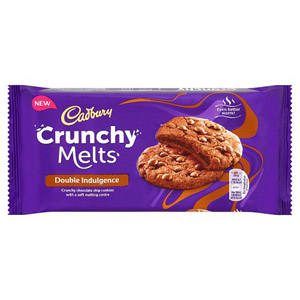 Cadbury Crunchy Melts Double Indulgence Chocolate Filled Cookies