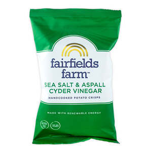Fairfields Farm Crisps Sea Salt & Aspall Cyder Vinegar
