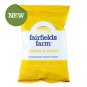 Fairfields Farm Crisps Cheese & Onion
