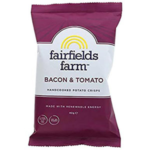 Fairfields Farm Crisps Bacon & Tomato
