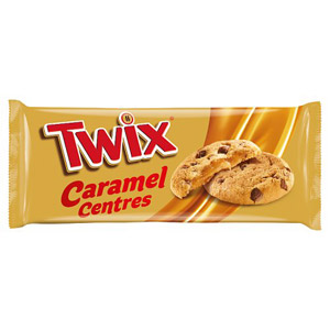 Twix Soft Centres Biscuits