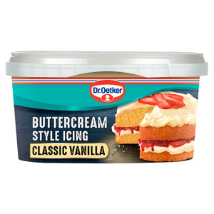 Dr. Oetker Buttercream Style Icing Classic Vanilla