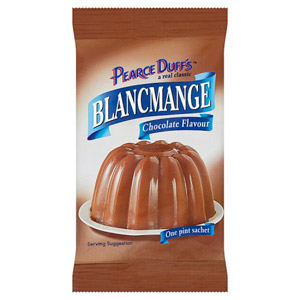 Pearce Duffs Blancmange Chocolate