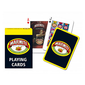 Gibsons Marmite Playing Cards