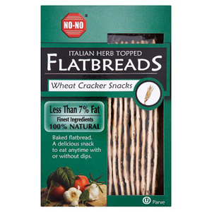 No-No Flatbreads Italian Herb