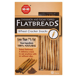 No-No Flatbreads Cinnamon Sugar