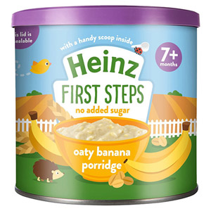 Heinz 7 Month First Steps Oaty Banana Porridge Tub