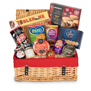 A Traditional British Christmas Hamper