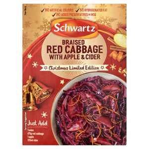 Schwartz Red Cabbage with Cider & Apple Mix Limited Edition