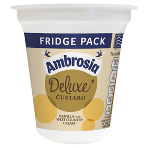 Ambrosia Deluxe Custard Vanilla with West Country Cream