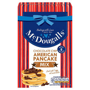 McDougalls Chocolate Chip American Pancake Mix