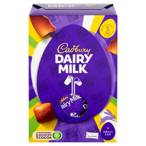Cadbury Dairy Milk Chocolate Chunks & Easter Egg