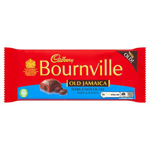 Cadbury Bournville Old Jamaica Dark Chocolate Bar