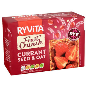 Ryvita Fruit Crunch Currant Crispbread