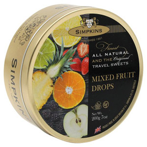 Simpkins Assorted Fruit Drops