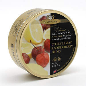 Simpkins Citrus Lemon & Sour Cherry