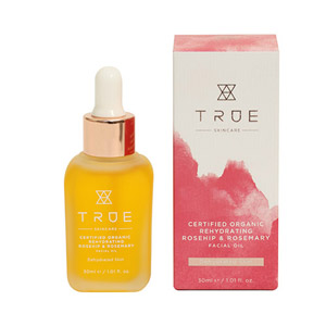 True Skincare Certified Organic Rehydrating Rosehip & Rosemary Facial Oil