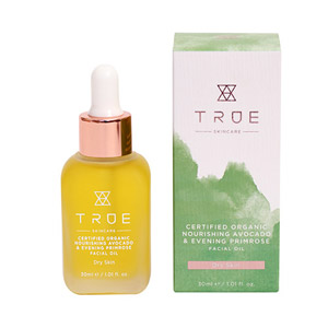 True Skincare Certified Organic Nourishing Avocado & Evening Primrose Facial Oil