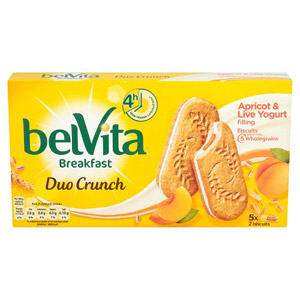 Belvita Duo Crunch Apricot and Yogurt