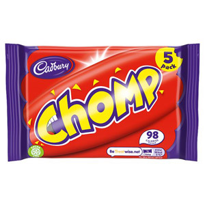Cadburys Chomp 5 Pack