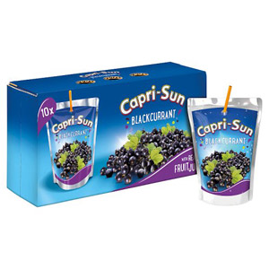 Capri Sun Blackcurrant 10 Pack