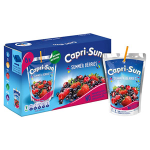 Capri Sun Summer Berries 10 Pack
