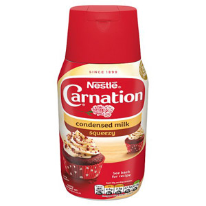 Carnation Sweetened Condensed Milk Bottle